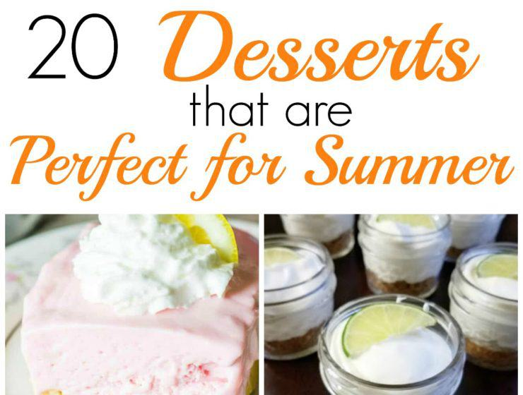summer eessert ideas